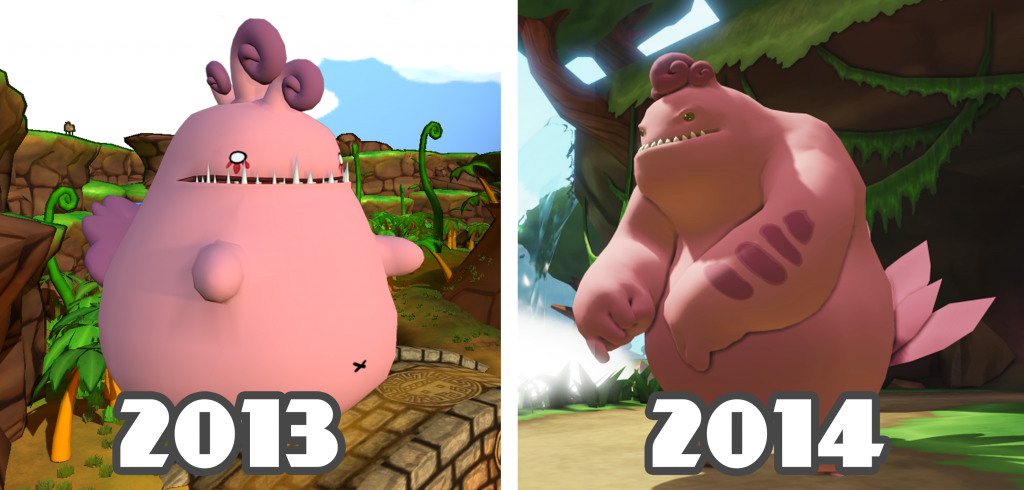 Grumble - 2013 v 2014